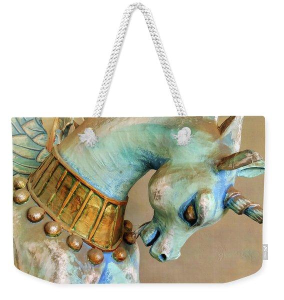 Sparkled Spiral Weekender Tote Bag