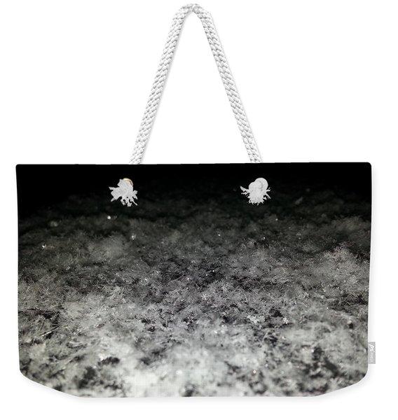 Sparkling Darkness Weekender Tote Bag