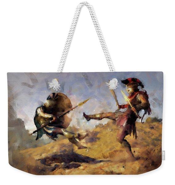 Spartan Hoplite - 12 Weekender Tote Bag