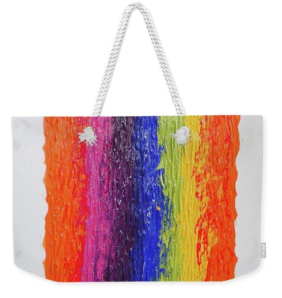 Speak Your Mind Weekender Tote Bag