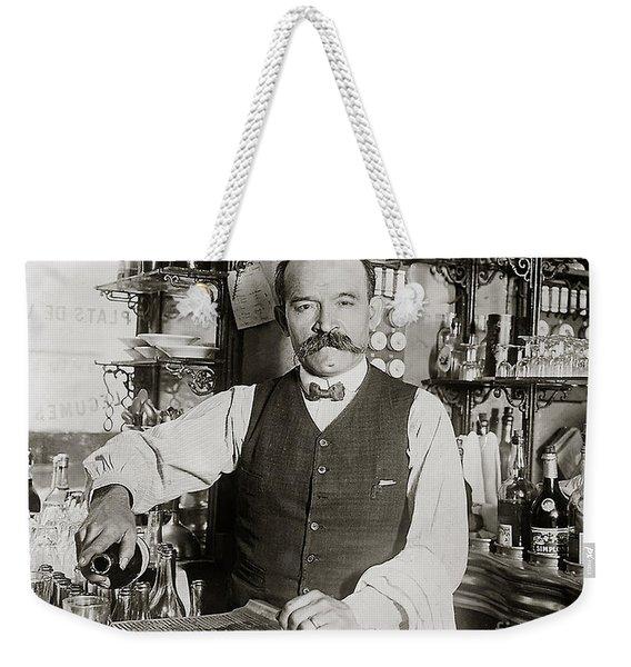 Speakeasy Bartender Weekender Tote Bag