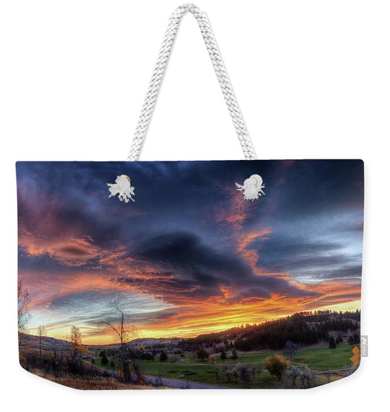 Spearfish Canyon Golf Club Sunrise Weekender Tote Bag