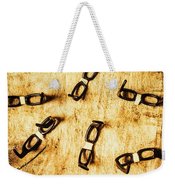 Spectating A Geeky Visual Weekender Tote Bag