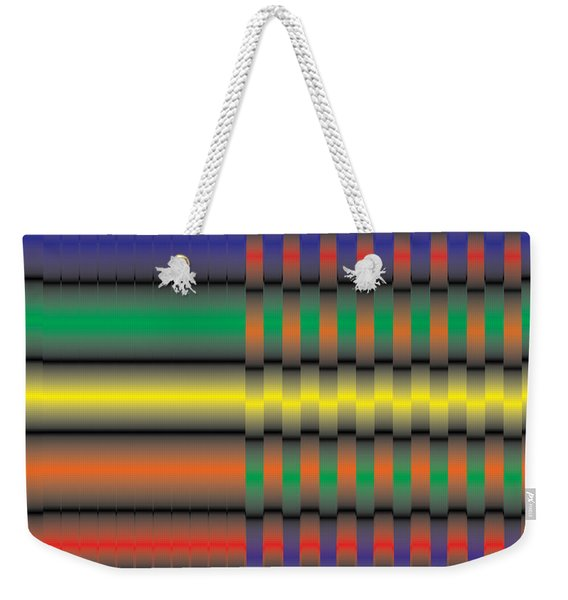 Spectral Integration Weekender Tote Bag