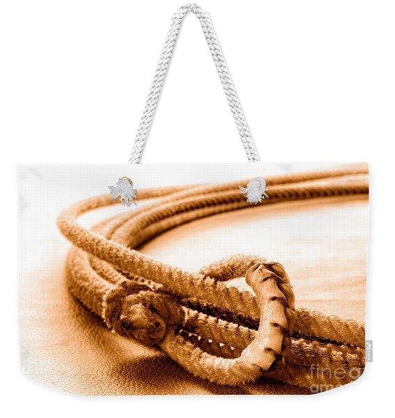Speed Burner - Sepia Weekender Tote Bag