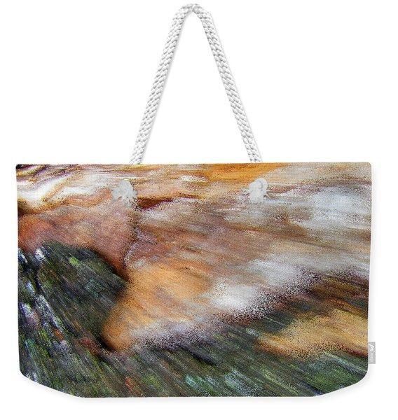Speed Of Light Abstract Weekender Tote Bag