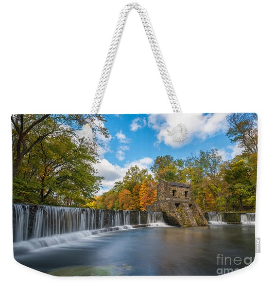 Speedwell Dam Fall Foliage Weekender Tote Bag