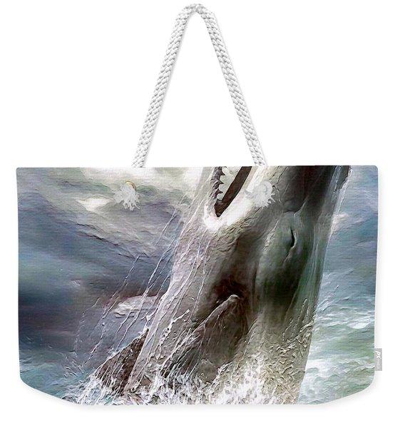 Sperm Whale Weekender Tote Bag