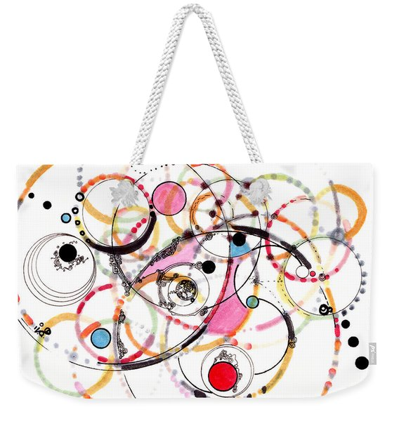Spheres Of Influence Weekender Tote Bag