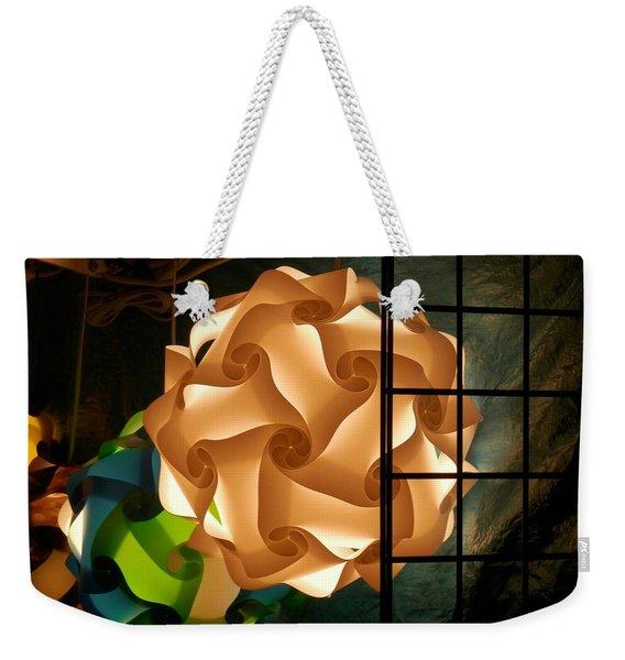 Spheres Of Light Weekender Tote Bag