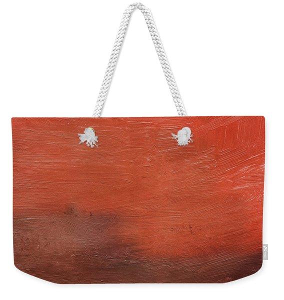 Spice- Abstract Art By Linda Woods Weekender Tote Bag