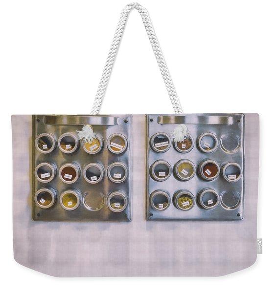 Spice Weekender Tote Bag
