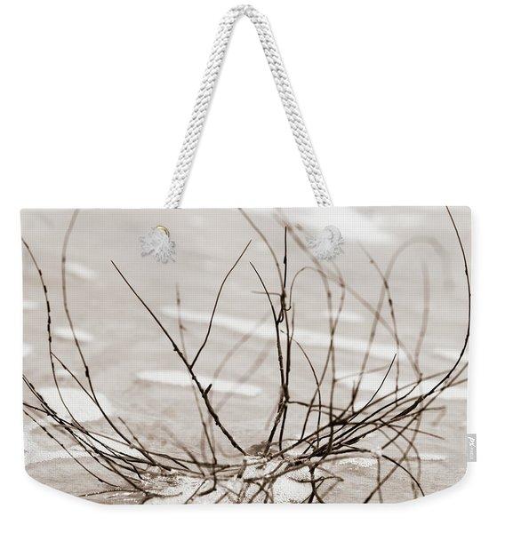 Spider Driftwood Weekender Tote Bag
