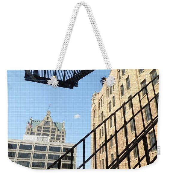 Spiderman? Spiderwoman? Idk Weekender Tote Bag