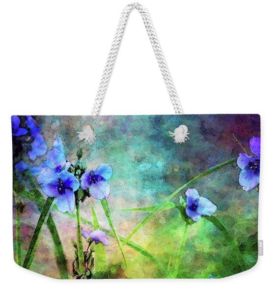 Spiderwort Dance 0115 Idp_2 Weekender Tote Bag