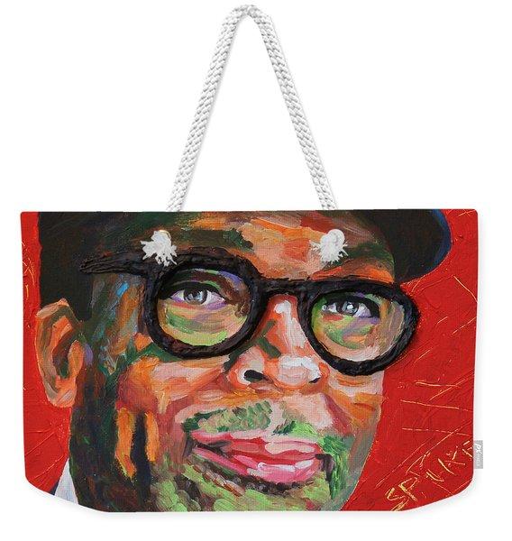 Spike Lee Portrait Weekender Tote Bag