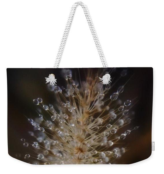 Spiked Droplets  Weekender Tote Bag
