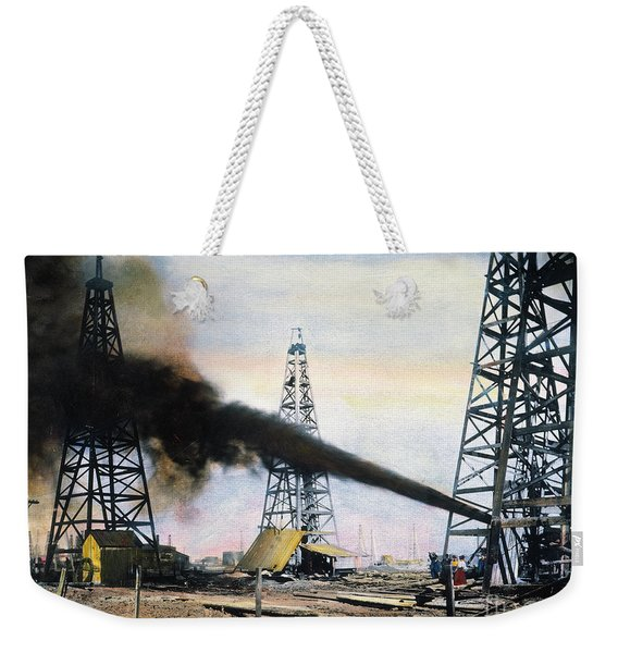 Spindletop Oil Pool, C1906 Weekender Tote Bag