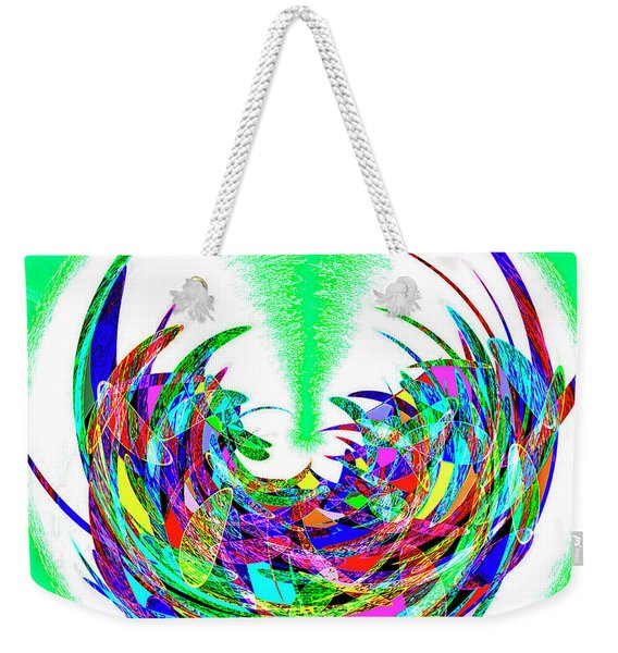Spinning Out Of Control Weekender Tote Bag