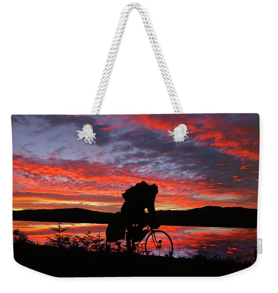 Spinning The Wheels Of Fortune Weekender Tote Bag