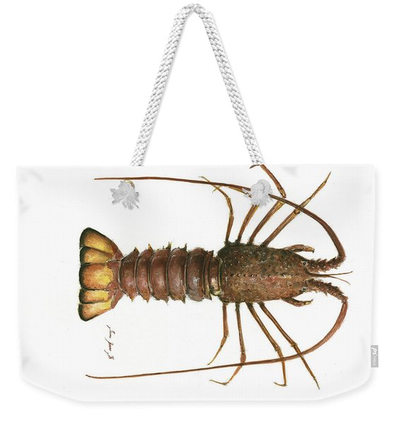 Spiny Lobster Weekender Tote Bag