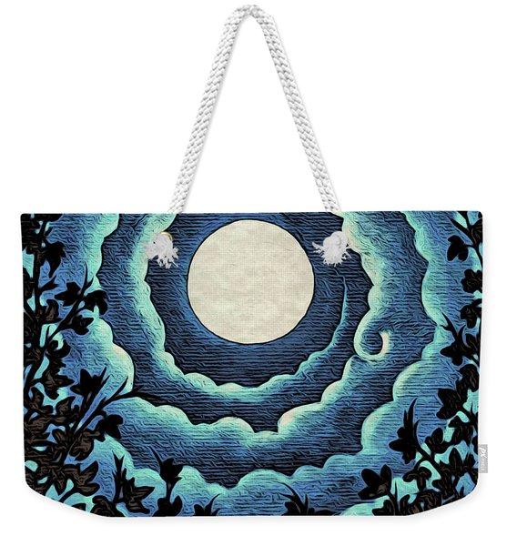 Spiral Clouds Weekender Tote Bag