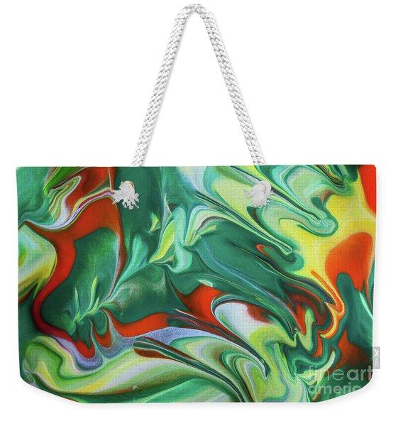 Spiral Dance Weekender Tote Bag