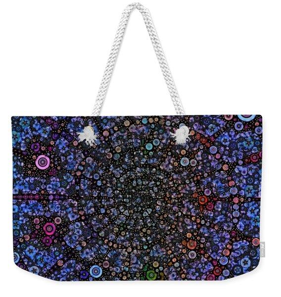Spiral Gallexy Weekender Tote Bag