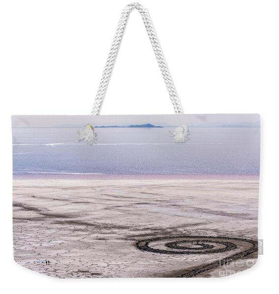Spiral Jetty - Great Salt Lake - Utah Weekender Tote Bag