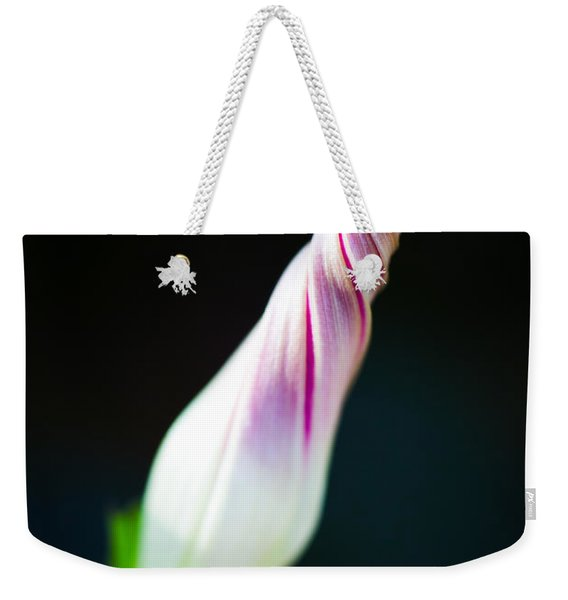 Weekender Tote Bag featuring the photograph Spiral by Laura Roberts