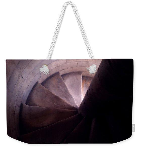 Spiral Of Time Weekender Tote Bag