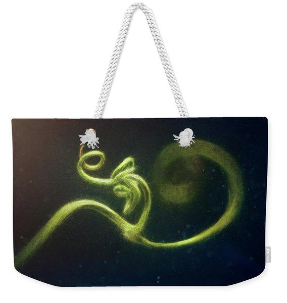 Spiral Weekender Tote Bag