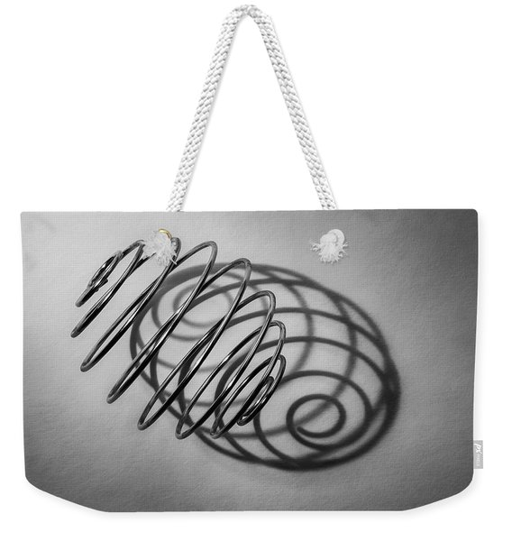 Spiral Shape And Form Weekender Tote Bag