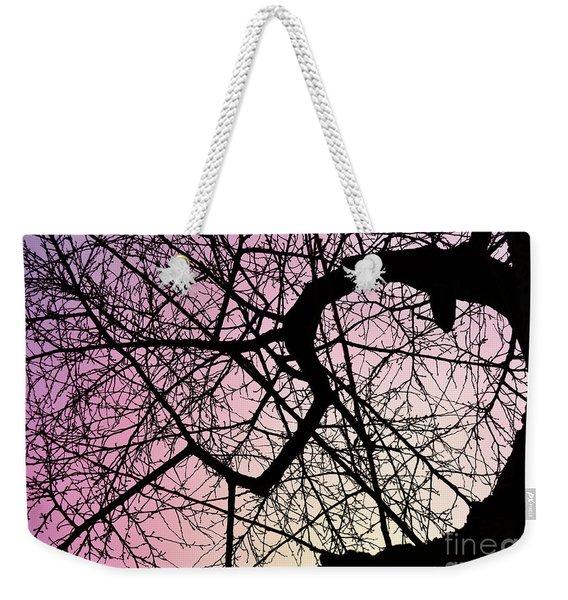 Spiral Tree Weekender Tote Bag