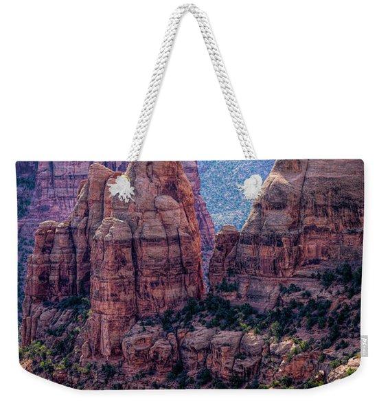 Spires And Mesa Country Weekender Tote Bag