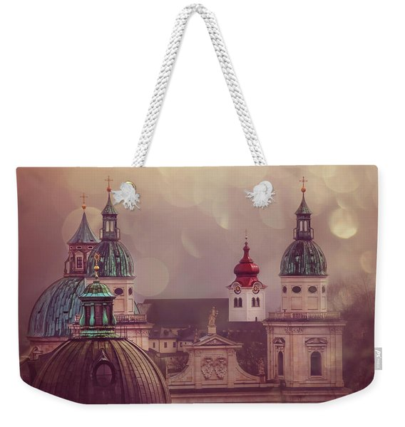 Spires Of Salzburg  Weekender Tote Bag