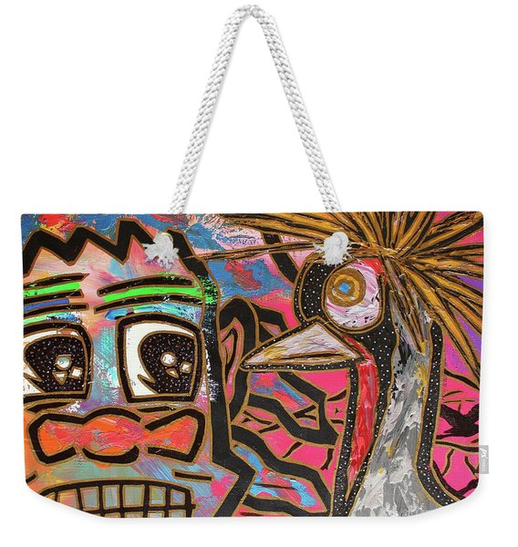 Spirit Guide Cranes Weekender Tote Bag