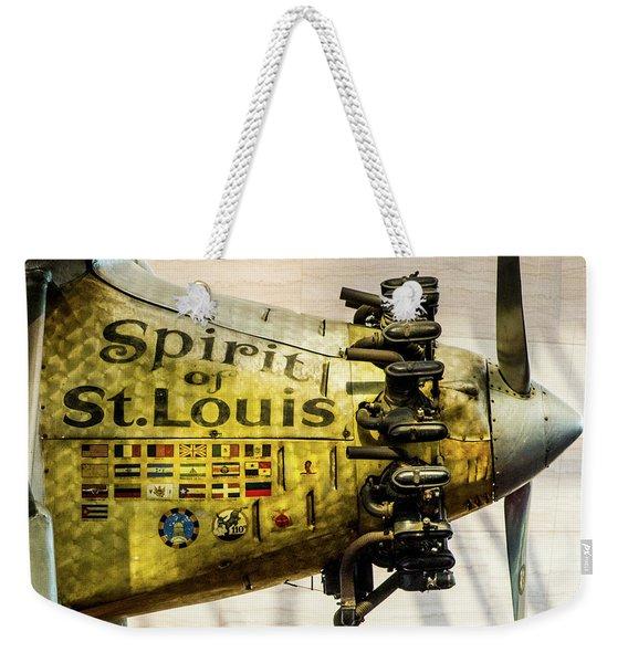 Spirit Of St Louis Weekender Tote Bag