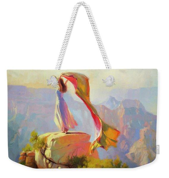 Spirit Of The Canyon Weekender Tote Bag