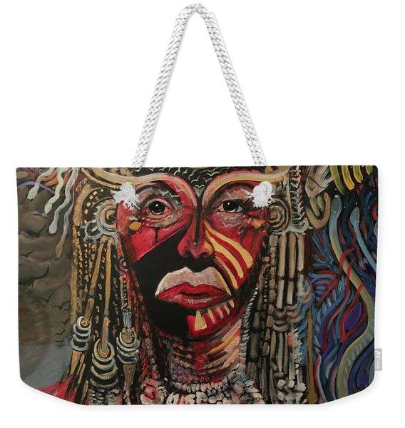 Spirit Portrait Weekender Tote Bag