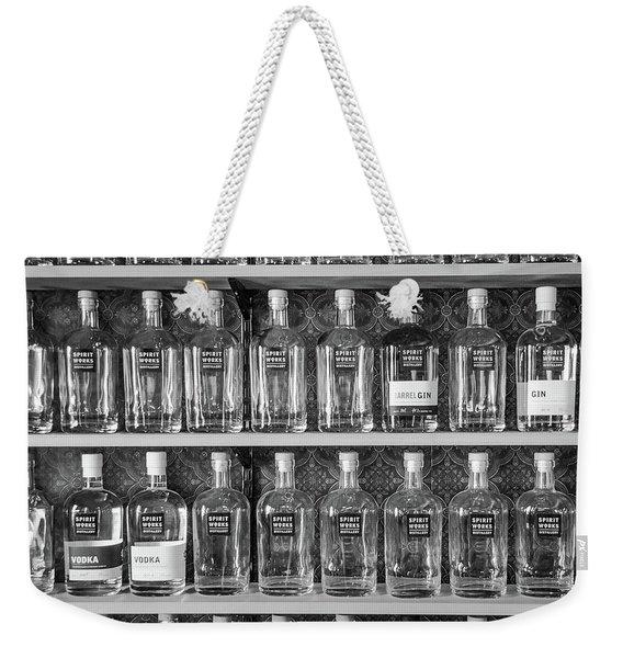 Spirit World Bottles Weekender Tote Bag