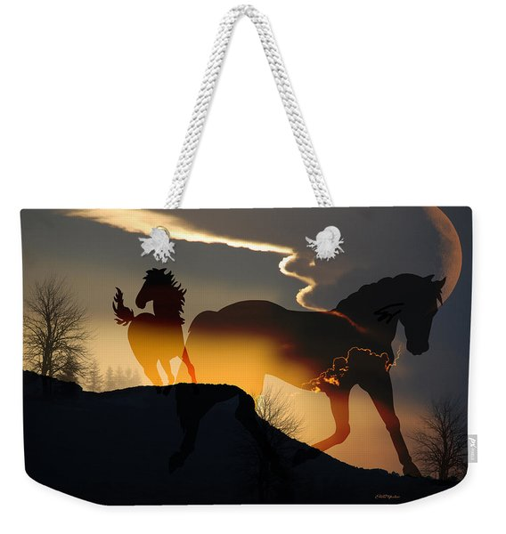 Spirits In The Sky Weekender Tote Bag