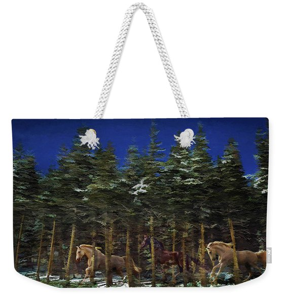 Spirits Of The Forest Weekender Tote Bag