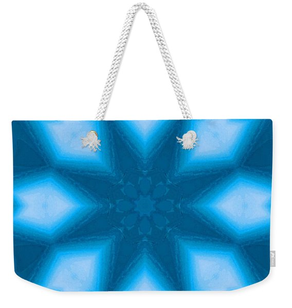 Weekender Tote Bag featuring the digital art Spiro #2 by Writermore Arts