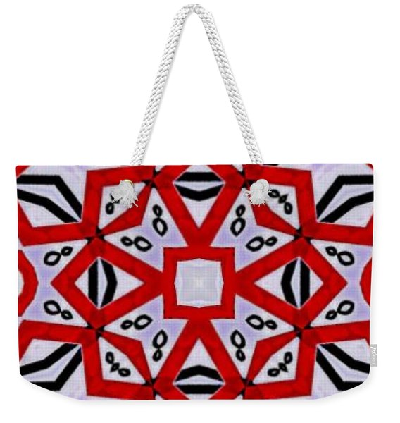 Weekender Tote Bag featuring the digital art Spiro #3 by Writermore Arts