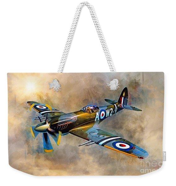 Spitfire Dawn Flight Weekender Tote Bag