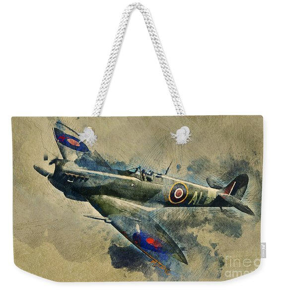 Spitfire  Weekender Tote Bag
