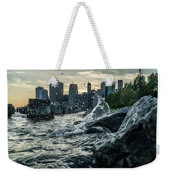 Splash Weekender Tote Bag
