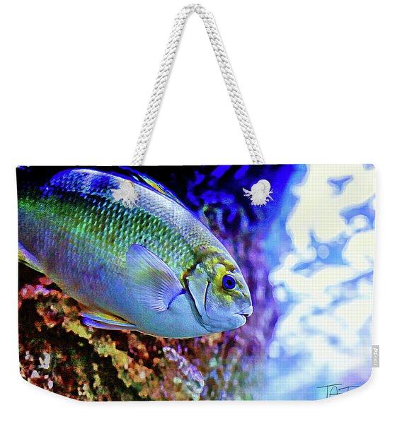 Splash Of Color Weekender Tote Bag