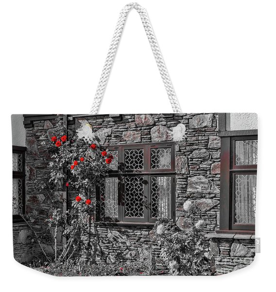 Splashes Of Red Weekender Tote Bag